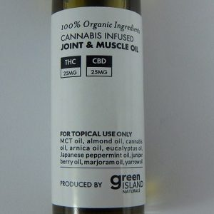 Buy Cannabis Joint and Muscle Oil