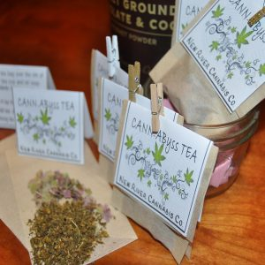 Buy Cannabis Peppermint Tea Bags Online